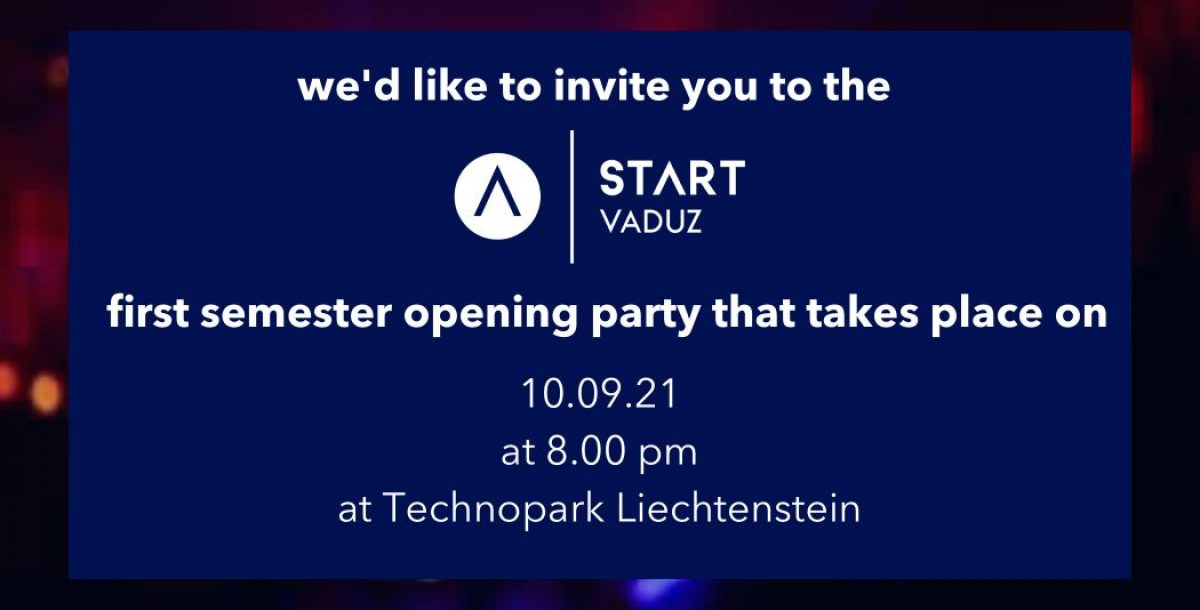 Start Party 2021